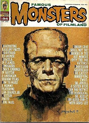Famous Monsters Of Filmland #94 Fine Condition