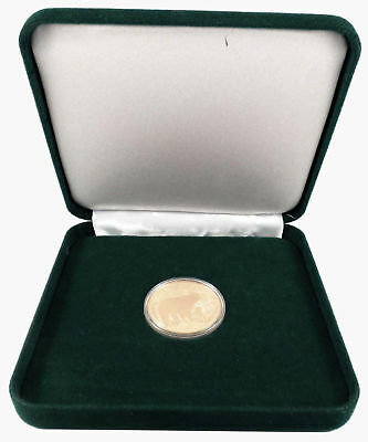 1996 Cook Islands $250 1 oz Gold National Park Foundation Yellowstone NP