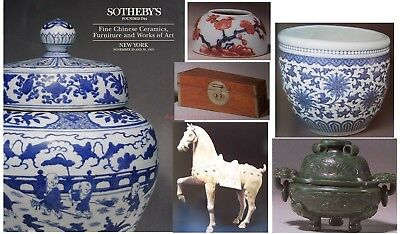 Sothebys Fine Chinese Ceramics, Furniture, Works of Art NY #6505 Nov 1993 THICK!