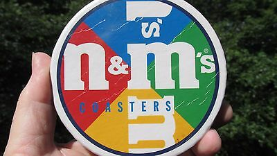 M&M's(R) World Licensed -  Set of  4 Coasters - New in original package -
