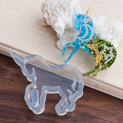 "UNICORN RESIN MOLD Silicone Mold to make 2"" long shapes, tol0822"