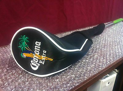 Calloway Corona Extra Long Neck Golf Club Headcover Licensed ~ NEW & Free Shipn.