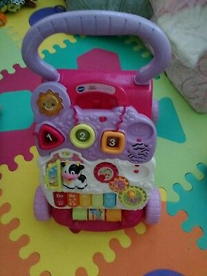 Vtech Sit To Stand Learning Walker Exclusive Pink Toys Games