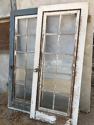 Vintage 1927 California Farmhouse 10-pane French Door - Architectural Salvage