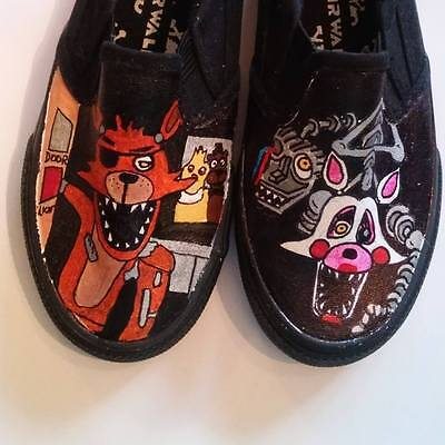 Five Nights at Freddy's  hand painted shoes