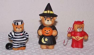Lucy & Me Figurines - Set of 3 -  Halloween Witch - Devil - Prisoner of Love