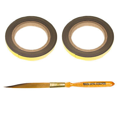 Andrew Mack Magnetic Tape Mack Mags and Long Stryper Brush 00 for Pinstriping