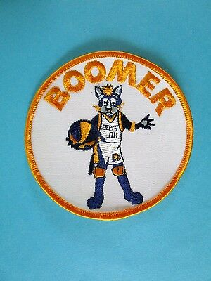 BOOMER Indianapolis Pacer's Mascot  Collectable Pacer NBA Advertising Patch NEW