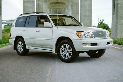 2000 Lexus LX OUTSTANDING TEXAS SUPER CLEAN 4X4 OUTSTANDING PEARL TEXAS SUPER CLEAN 4X4 NO ACCIDENT HISTORY