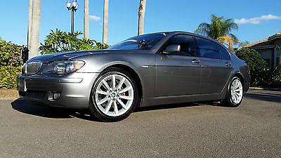 2007 BMW 7-Series SPORT PACKAGE 2007 BMW 750LI  FLORIDA CAR  LOW 63K MILES, LOADED  EXC CONDITION