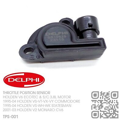 Delphi Throttle Position Sensor V6 Ecotec 3.8L [Holden Vs-Vt-Vx-Vy Commodore]