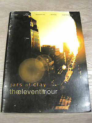 Jars of Clay The Eleventh Hour Sheet Music Song Book Guitar Tab Tablature