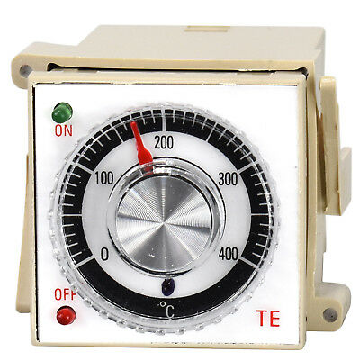 Simple Analogue Temperature Controller Pt-100 Pt100 thermocouple K 0... 400°C