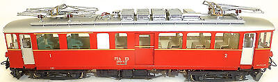 RH B Cover 4/4 38 Electric Railcars Red LEMACO BRASS kleinserie H0M 1:87 Å √