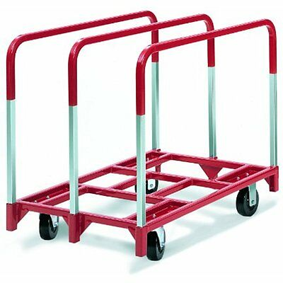 3825 Platform Trucks Panel Mover With Fixed And Swivel In. Phenolic Casters
