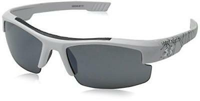 Under Armour Nitro L Youth Large8600048-881101 Sunglasses Shiny White 59 mm