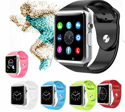 Bluetooth Smart Watches Wristband Bracelet Waterproof For iPhone Sumsung