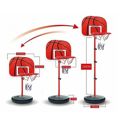 Mini Basketball Hoop Ring Backboard Kit 72-150cm Indoor Mounted Mount Kid Toy AU