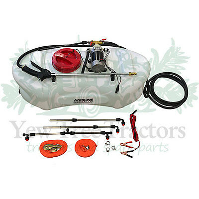 QUAD BIKE SPRAYER ATV hand lance & 1.5m boom 60L tank 12v 5m hose 60psi