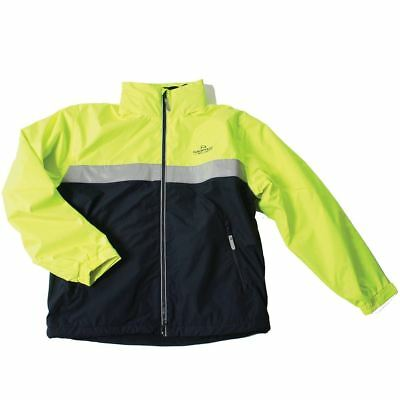 Horseware Ireland Corrib Neon Childrens Jacket- Fluorescent Yellow CBHCN2