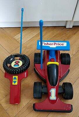 fisher price vintage formula 1 racer #2085 from year 1992