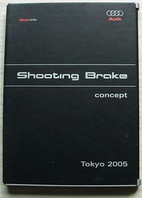 AUDI SHOOTING BRAKE CONCEPT CAR TOKYO Show Press Media Pack CD 2005