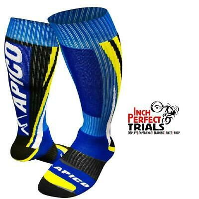 Apico Trials Trails Mx Off Road Enduro Motorcross Motorcycle Bike Socks