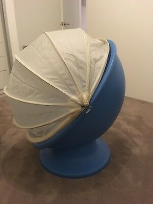 Ikea kids swivel egg chair