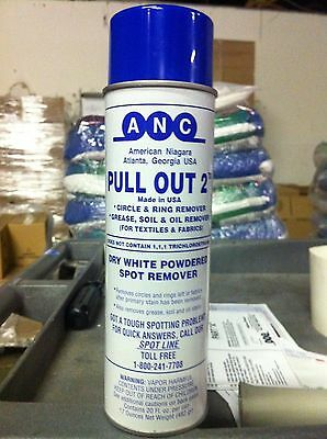 Pull out 2 Dry White Powder spot remover by ANC FULL CASE OF 12 Cans