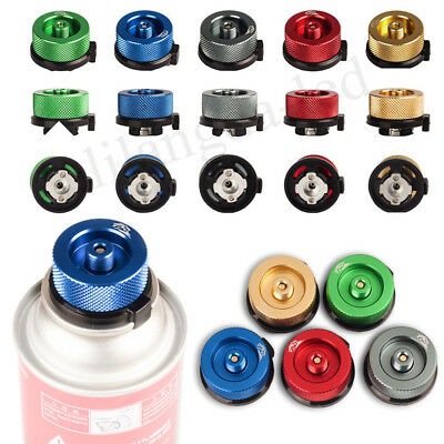 1PC Gas Refill Adapter Converter Connector For Outdoor Camping Stove Burner Tank