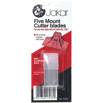 Spare Blades for 7321 Mount Cutter (Pack of 5) 7347-B