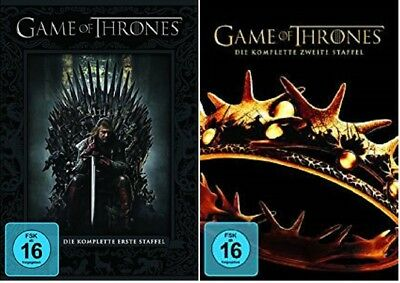 Game of Thrones Staffel 1+2 DVD Set NEU OVP