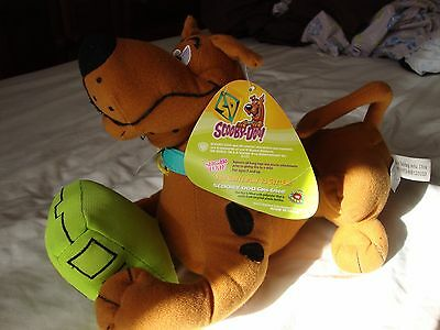 "Scooby-Doo! 12 "" Scooby Snacks 2012 'green' Stuffed Animal"