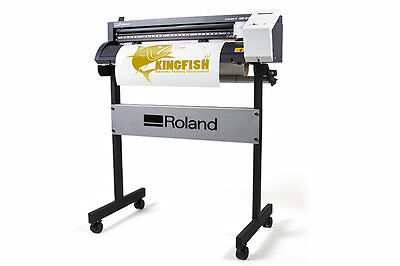 Roland GS-24 Vinyl Cutter w/ Stand *Used*