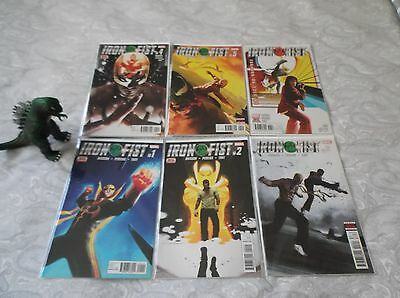 Iron Fist 1 - 6 New Series All First Prints  Marvel Comics • $11.99