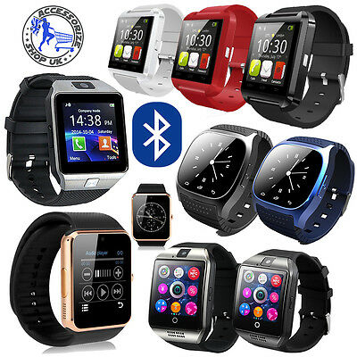 2017 Model GT08 Q18 Bluetooth Smartwatch Phone Wrist Watch for Android and iOS