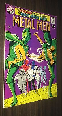METAL MEN #32 -- July 1968 -- F Or Better -- A