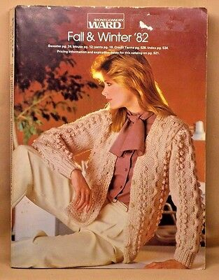 MONTGOMERY WARDS 1982 Fall & Winter Catalog 1156 Pages Collectible