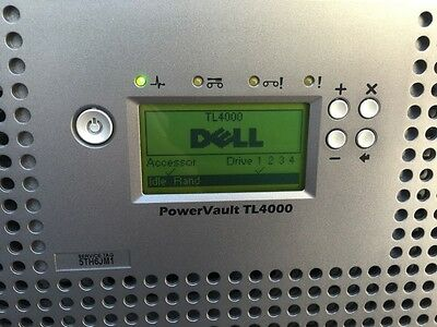 Dell Powervault TL4000 TAPE  BACKUP LIBRARY full height SAS LTO4 tape DRIVE