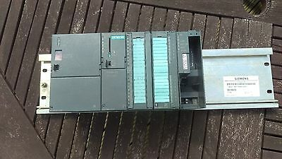 Siemens Simatic S7-300 PLC with SM 322 output card and SM NET CP with PSU