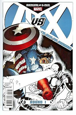 A Vs X  #1  * Variant *   I'm With The Avengers  Cover    Nm