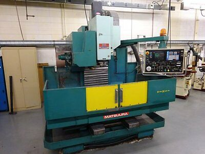 Matsuura Model MC-800V Vertical Machining Center