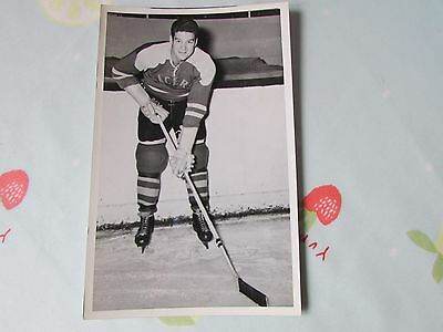 Original Vic FILDES Harringay RACERS 1950's Ice Hockey Player Photo