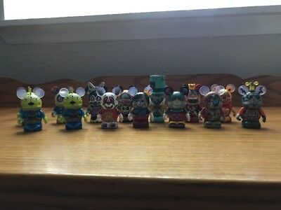 Disney Vinylmation Robots 3 Characters Set Of 12 With Chaser And Extra Aliens • $21.00