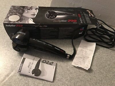 BaByLiss Fer à boucler Miracurl BAB2665E the Perfect Curl Machine - gamme pro
