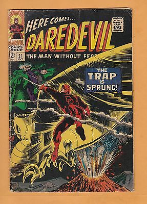 Daredevil #21 (Oct 1966, Marvel) Daredevil vs The Owl