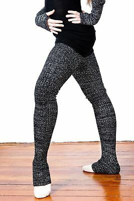 40 Inch Extra Long Thigh High Leg Warmers Stretch Knit by KD dance 20+ Colors