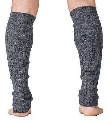 Men's Leg Warmers 16 Inch Stretch Knit Ribbed High Quality KD dance New York Mad