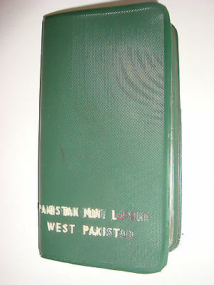 5 Coins of Pakistan- Pakistan Mint Lahore - (4) 1953 (1) 1951 in holder