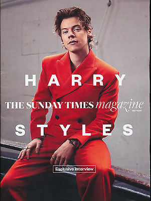 Sunday Times Magazine May 14th 2017 Harry Styles